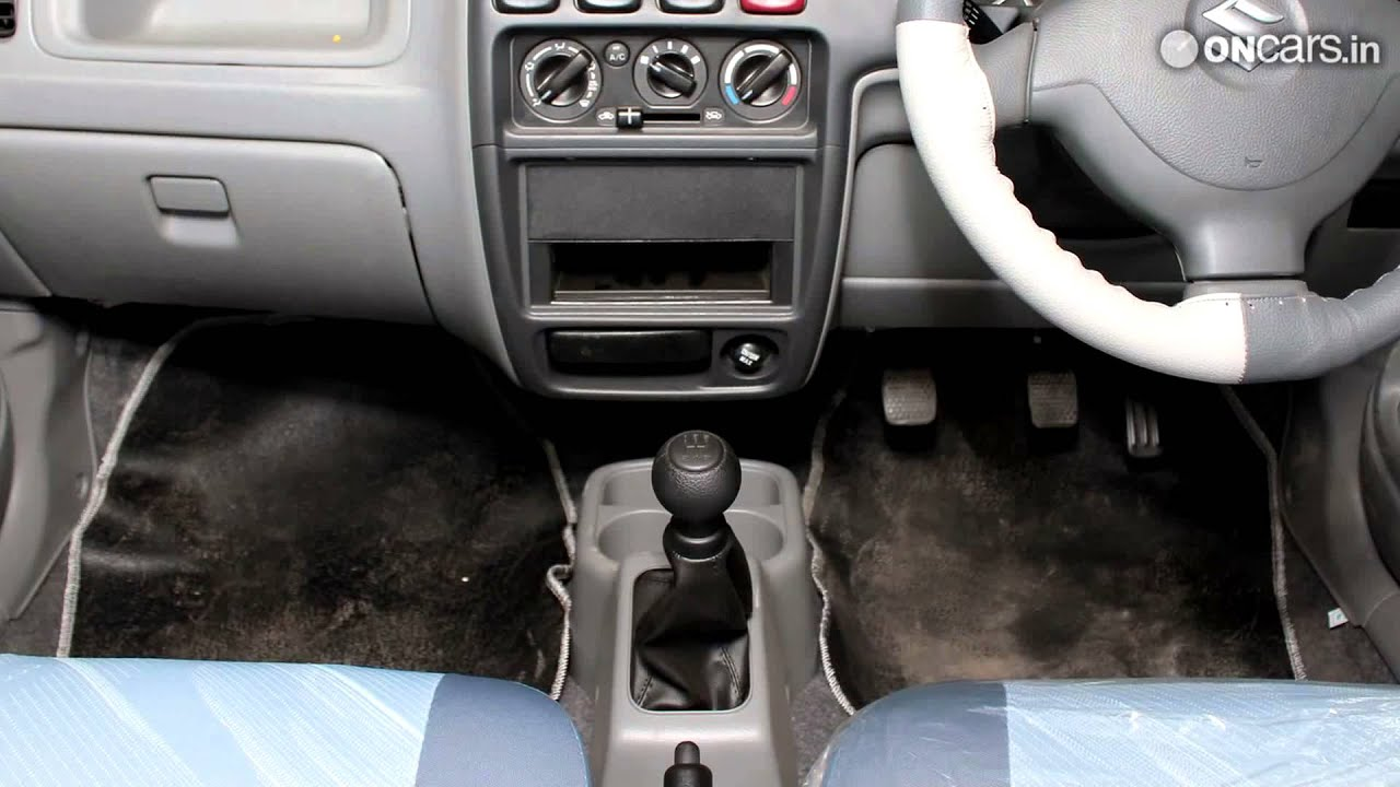 Maruti suzuki alto k10 knightracer launched in india youtube for Interior decoration of maruti 800