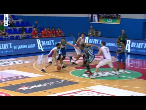 Alfa Basketball Championship - Beirut v Mouttahed - Kyle Hunt Alleyoop