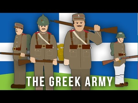 WWI Factions: The Greek Army