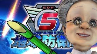 [LIVE] 【LIVE】バーチャルおばあちゃんがはじめて地球防衛軍5