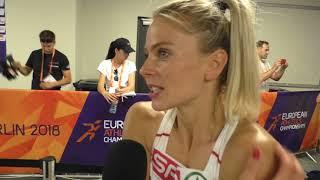 ME Berlín 2018, ALEXANDRA BEZEKOVÁ po kvalifikácii na 400 m  8 8 2018