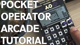 Pocket Operator Arcade Tutorial - For Beginners!