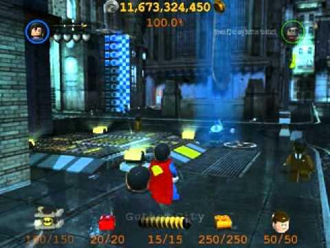 Lego Batman 2 Free roaming in Lego City - No Lag - All Characters ...
