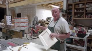 DIY - How To Make A Flat Panel Cabinet Door Part 1