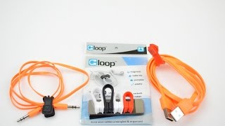 Cloop: Magnetic Cable ties/ orgnizer Review