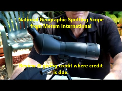 National Geographic Spotting Scope from Metem Int.- Review ...