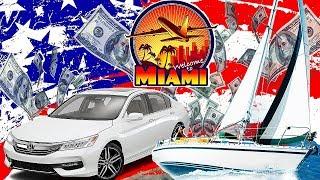 Яхта По Цене Honda Accord. Перегон Яхты На Бесплатную Стоянку В Майами | Сша 2019