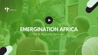 Emergination Africa: C.V. and Resume Bootcamp