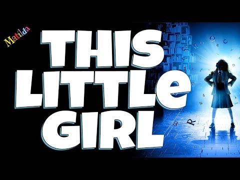 This little girl Matilda the musical Backing track karaoke instrumental