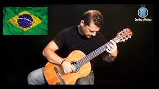 Baixar Hino Nacional Brasileiro (AULA GRATUITA) Aula de Violão Clássico - Cordas e Música