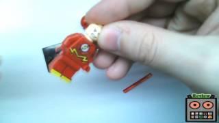LiveRoBoT ReVieW - МиниФигурка LEGO Флэш [DC] | Flash MiniFigure [DC Comics]