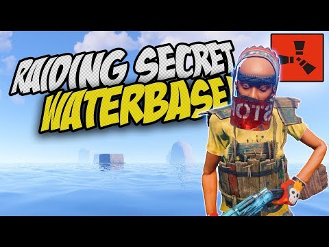 RAIDING A SECRET WATERBASE WITH MY NEIGHBOUR! - Rust