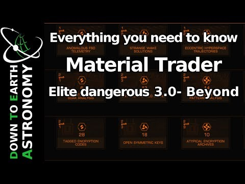 Elite dangerous materials finder