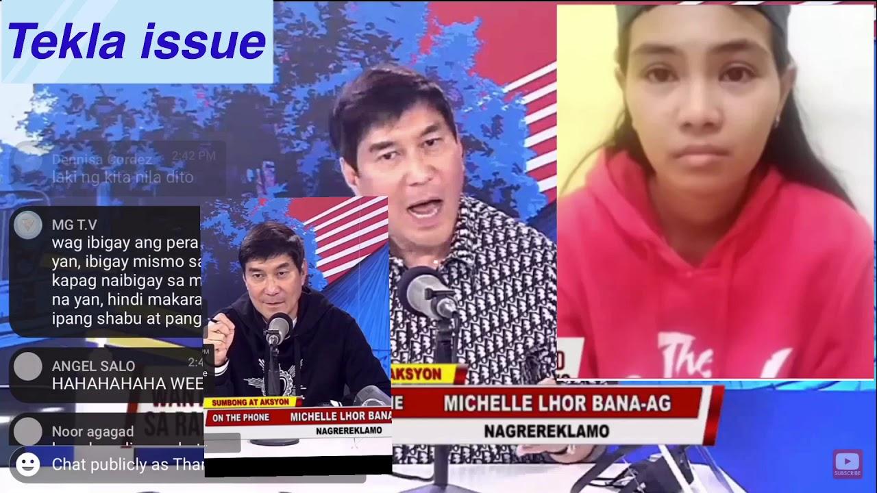 Download Raffy  Tulfo ipinagtanggol si Michelle Bana-ag!! Tekla Nasaan?
