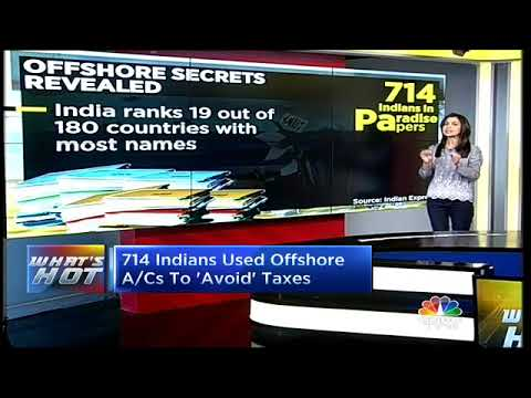 Paradise Papers: Offshore Secrets Of 714 Indians Revealed | CNBC TV18
