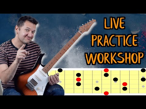 LIVE STREAM (How To Practice Guitar Improvisation)