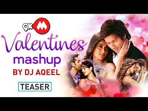 9XM Valentine's Mashup Teaser - DJ Aqeel | Latest Bollywood Songs 2018 | Coming Soon
