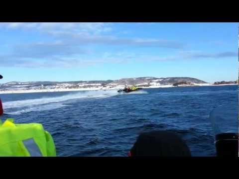 Fjordrafting i Trondheimsfjorden