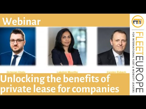 Webinar: How to unlock the benefits of private leasing for your employees?