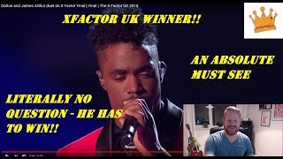 Dalton Harris and James Arthur sing The Power of Love| xFactor Final | PW Reaction