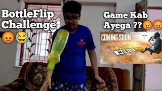 Babu Ne Liya Bottle Flip Challenge 😂😂