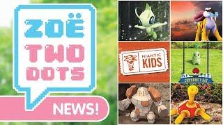 CELEBI, KIDS UPDATE, REGIROCK & MORE   Pokémon GO   ZoeTwoDots