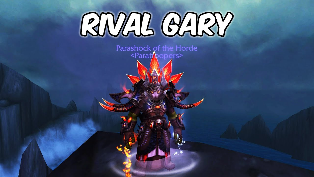 RIVAL GARY - Restoration Shaman PvP - WoW BFA 8.3