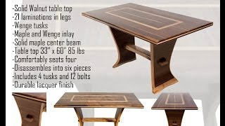 Walnut Trestle Table Pt 2 Of 3