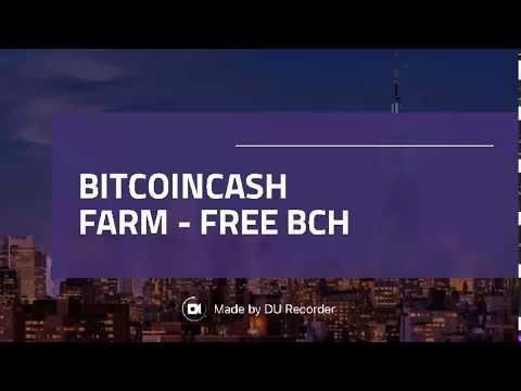 FREE BITCOIN CASH FARM 💰💰FREE BCH💰💰