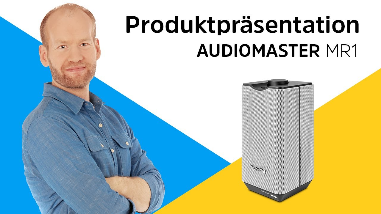 Video: AUDIOMASTER MR1 | Exzellenter Klang verstärkt durch ELAC. | TechniSat