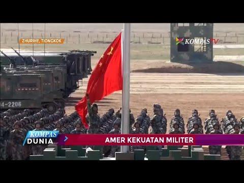 Tiongkok Pamer Kekuatan Militer