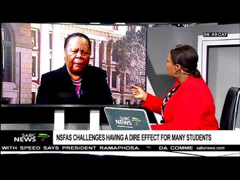 NSFAS challenges having a dire effect for many students