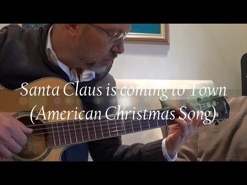 Fingerstyle Guitar (TAB) - Santa Claus is coming to town