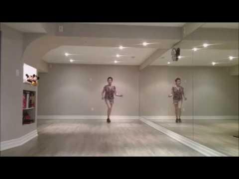 Stomp It Out Now Line Dance (dance & Teach)