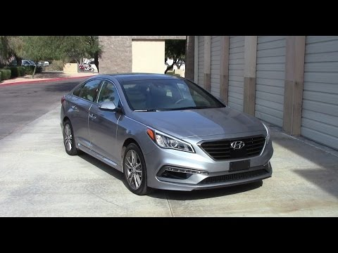 2015 hyundai sonata sport 2 0t fuel economy test youtube. Black Bedroom Furniture Sets. Home Design Ideas