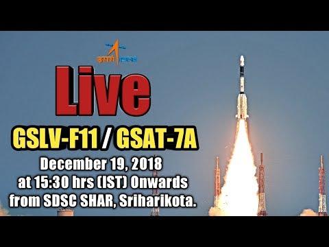 🔴 LIVE : ISRO's GSLV-F11 / GSAT-7A Mission Launch from Shriharikota