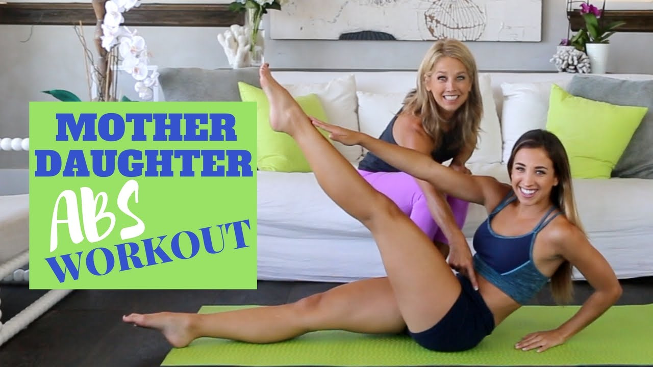 Mother Daughter Workout W Denise Austin Abs Youtube