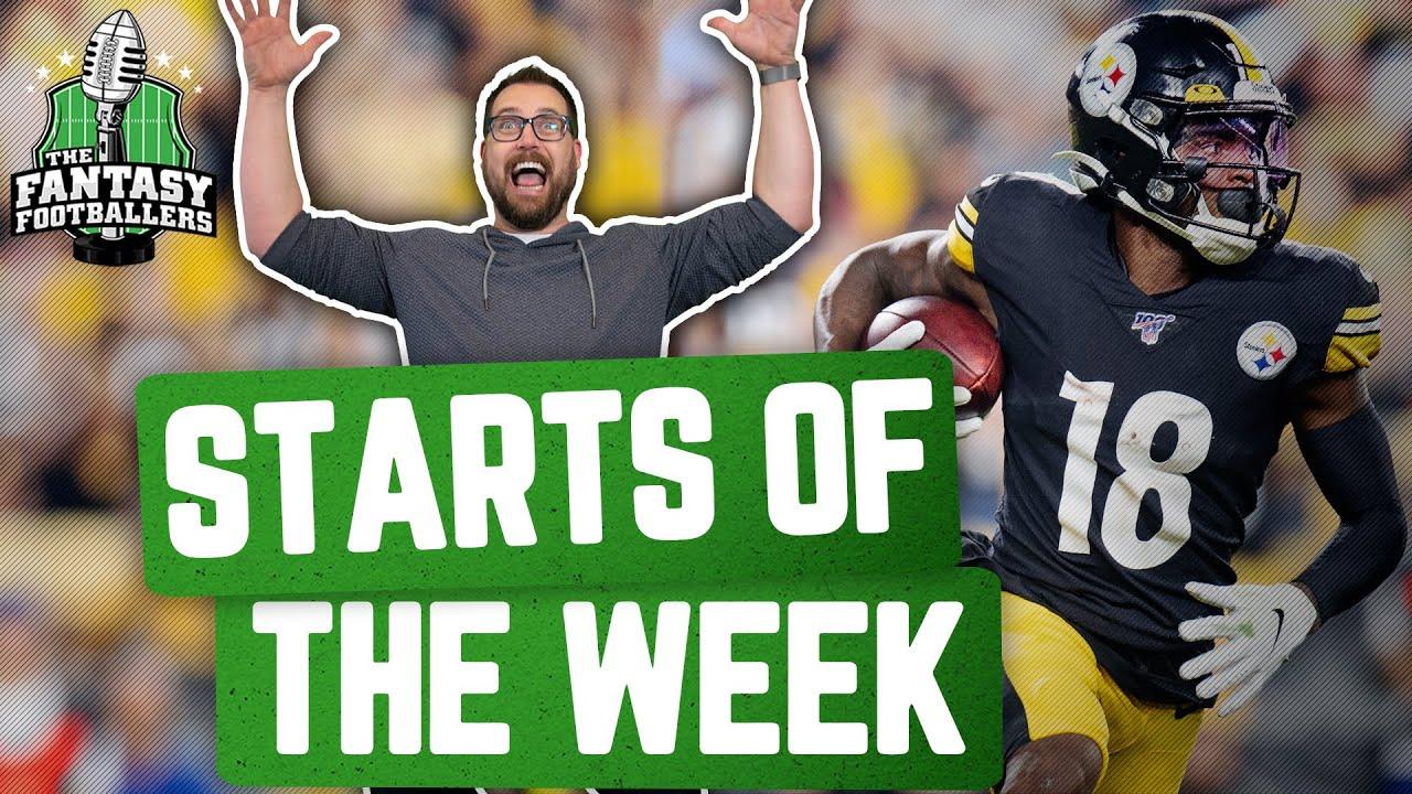 Fantasy Football 2020 - Starts of the Week + Week 3 Breakdown, V8 Special - Ep. #948