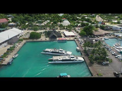 Consignes de sécurité Bora Bora Navettes, au départ du quai de Vaitape - FR