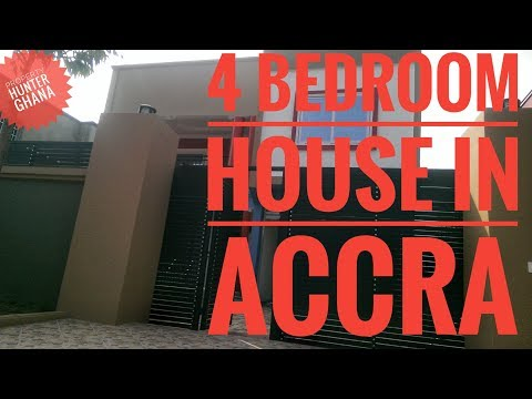 4 Bedroom House With Pool In Accra For Sale