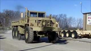 M813 6x6 5 Ton Military Cargo Truck