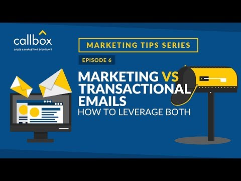 Marketing vs Transactional Emails: How to Leverage Both