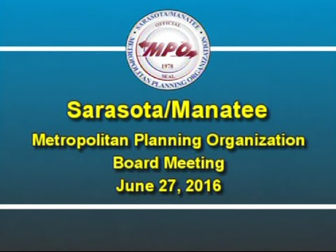 MPO Board Meeting 6/27/2016