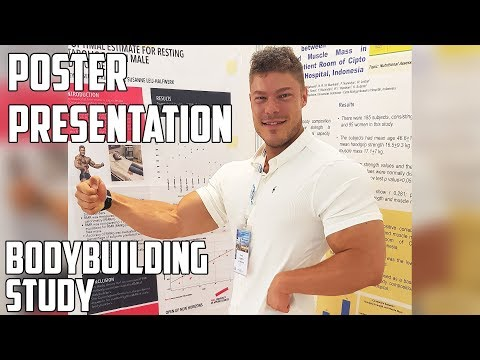 VLOG: MY BODYBUILDING STUDY - Poster Presentation - ESPEN Congress (PART 2)