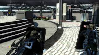 Binary Domain Invasion Mode Stage 2 Outside Aggro Center [Rounds 1-50][Part 2]