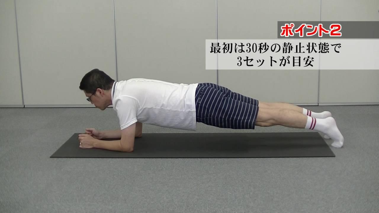 プランク 腰 が 痛い プランクで腰が痛い!ならば段階的、多種メニューで総合的に対処