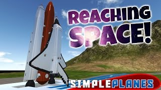 simpleplanes gameplay reaching space space shuttle ekranoplan more simple planes highlights