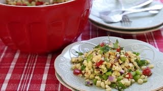 Grilling Recipes - How to Make Grilled Corn Salad