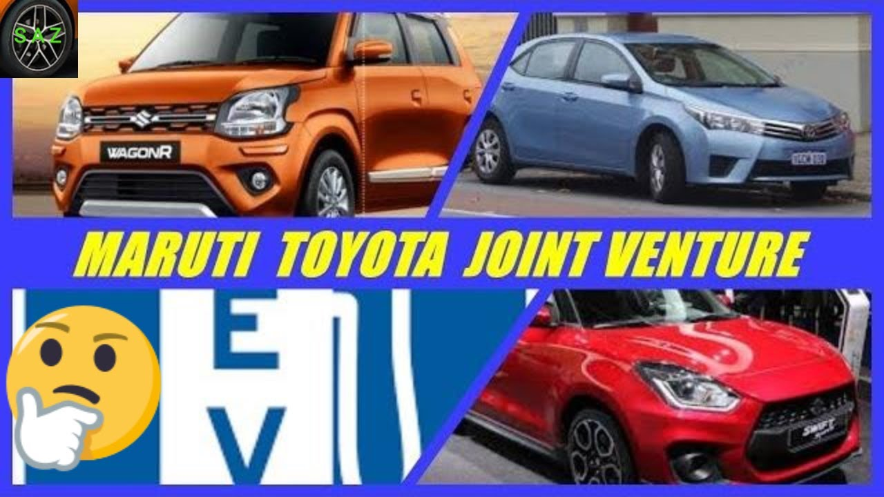 Maruti Toyota Joint Venture Mahindra Ford In India