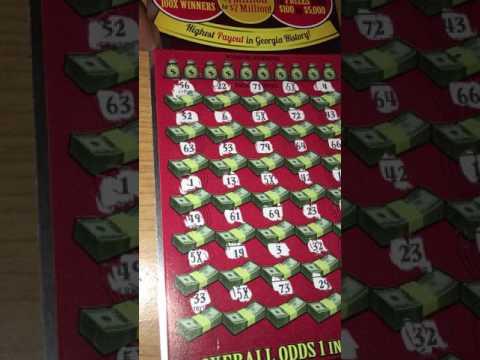 HUGE WINNER! Billionaires Club. GA Scratcher